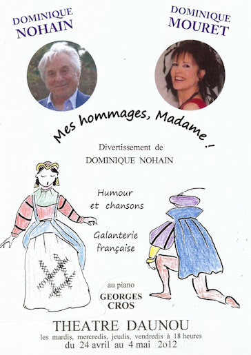 Mes homages Madame